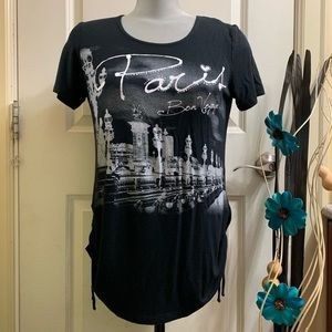 Paris Print Women's Shirt